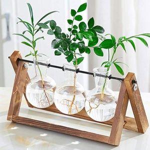 Other - Desktop Glass Planter 3 Bulb Vase
